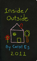 Inside/Outside: Artist's book by Carol Es - Art House Fiction Project, cover