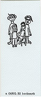 Monsters on Jasmine St. by Carol Es - letterpressed poetry book, bookmarker