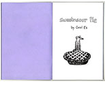 Sweetnsour Pie - an Artist's book by Carol Es